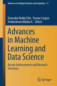 Advances in Machine Learning and Data Science (häftad)