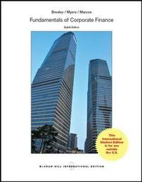 brealey myers marcus fundamentals of corporate finance 6th ed Fundamentals of corporate finance, by brealey, myers and marcus, provides students with a solid framework of theory and application to use well after they complete the course this author team is known for their outstanding research, teaching efforts, and world-renowned finance textbooks, so it's no surprise that they provide clear exposition.
