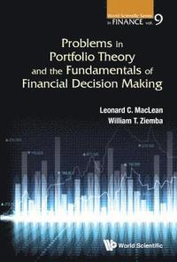 Problems In Portfolio Theory And The Fundamentals Of Financial Decision Making (inbunden)