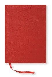 Radiodeltauno.it NoteBook textil linjerad röd A5 Image