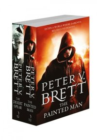 Demon Cycle Series Books 1 and 2: The Painted Man, The Desert Spear