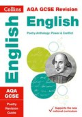 Grade 9-1 GCSE Poetry Anthology Power and Conflict AQA Revision Guide (with free flashcard download)