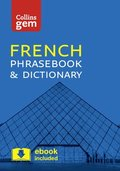 Collins French Phrasebook and Dictionary Gem Edition