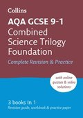 GCSE Combined Science Trilogy  Foundation AQA Practice and Revision Guide