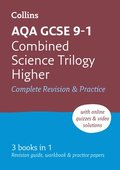 GCSE Combined Science Trilogy Higher AQA Practice and Revision Guide with online edition