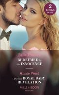 Redeemed By Her Innocence / Sheikh's Royal Baby Revelation: Redeemed by Her Innocence / Sheikh's Royal Baby Revelation (Mills & Boon Modern)
