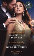 Baby To Bind His Innocent / Hired By The Impossible Greek: A Baby to Bind His Innocent / Hired by the Impossible Greek (Mills & Boon Modern)