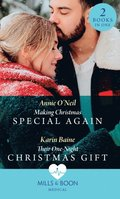 Making Christmas Special Again / Their One-Night Christmas Gift: Making Christmas Special Again (Pups that Make Miracles) / Their One-Night Christmas Gift (Pups that Make Miracles) (Mills & Boon Med