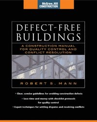 Defect-Free Buildings (McGraw-Hill Construction Series)