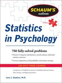 Schaum's Outline of Statistics in Psychology