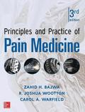 Principles and Practice of Pain Medicine 3/E