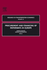 Procurement and Financing of Motorways in Europe