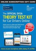 The Official DVSA Theory Test Kit for Car Drivers - online subscription gift card
