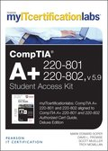 CompTIA A+ 220-801 and 220-802 Cert Guide, v5.9 MyITCertificationlab -- Access Card