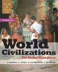 World Civilizations: The Global Experience, Volume 2 Plus New Mylab History with Pearson Etext -- Access Card Package