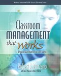 Classroom Management That Works
