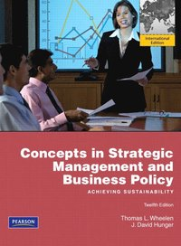Strategic Management And Business Policy Thomas L Wheelen Bok