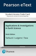 Pearson eText Applications and Investigations in Earth Science -- Access Card