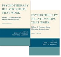 Psychotherapy Relationships that Work, 2 vol set