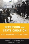Secession and State Creation