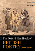 Oxford Handbook of British Poetry, 1660-1800