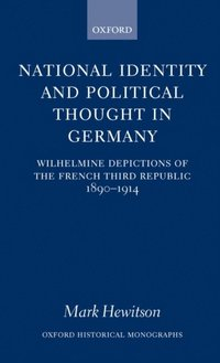 National Identity and Political Thought in Germany