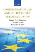 Administrative Law and Policy of the European Union