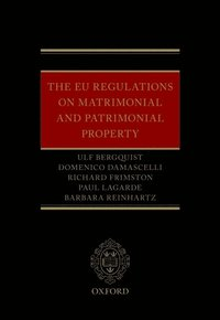 EU Regulations on Matrimonial and Patrimonial Property