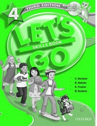 Let's Go: 4: Skills Book with Audio CD Pack