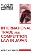 International Trade and Competition Law in Japan