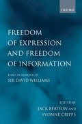 Freedom of Expression and Freedom of Information