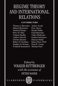 Regime Theory and International Relations