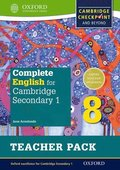 Complete English for Cambridge Lower Secondary Teacher Pack 8