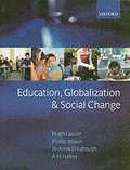 Education, Globalization, and Social Change