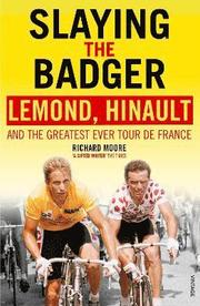 Greg LeMond, 'L'Americain': fresh-faced, prodigious newcomer. This is supposed to be his year.  Bernard Hinault, 'The Badger': aggressive, headstrong, five-time winner of the Tour. He has pledged his unwavering support to his team mate, LeMond.   The team is everything in cycling, so the world watches, stunned, as LeMond and Hinault's explosive rivalry plays out over three high-octane weeks. Slaying the Badger relives the adrenaline and agony as LeMond battles to become the first American to win