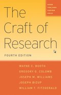 Craft of Research, Fourth Edition