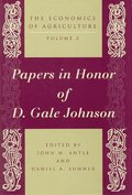 The Economics of Agriculture: v. 2 Essays on Agricultural Economics in Honor of D.Gale Johnson