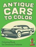 Antique Cars to Color
