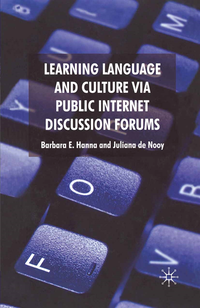 Learning Language and Culture Via Public Internet Discussion Forums