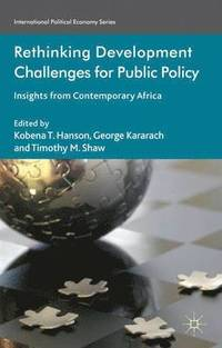 Rethinking Development Challenges for Public Policy