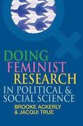 Doing Feminist Research in Political and Social Science