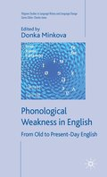 Phonological Weakness in English