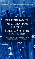 Performance Information in the Public Sector