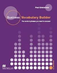 Business Vocabulary Builder Intermediate Students Book &; CD Pack