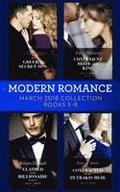 Modern Romance Collection: March 2018 Books 5 - 8