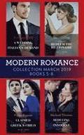 Modern Romance March 2019 Books 5-8