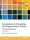 Introduction To Computing And Programming In Python 3rd Edition