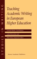 Teaching Academic Writing in European Higher Education