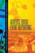 Adverse Drug Event Reporting