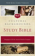 NKJV, Cultural Backgrounds Study Bible, eBook